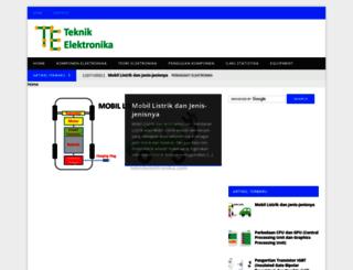 teknikelektronika.com screenshot