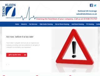 teknikleen.co.uk screenshot