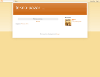 tekno-pazar.blogspot.com screenshot