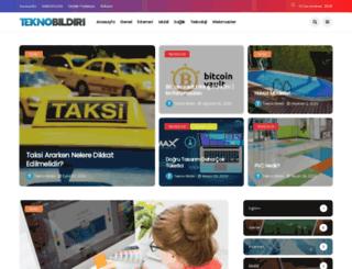 teknobildiri.com screenshot