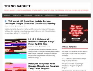 teknogadget.com screenshot