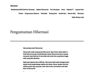 teknojurnal.com screenshot