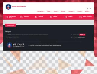 teknokent.kku.edu.tr screenshot