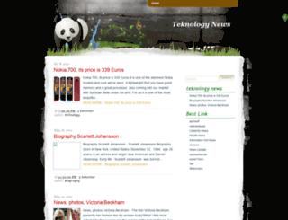 teknologynews.blogspot.com screenshot