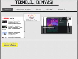 teknolojidunyam.net screenshot