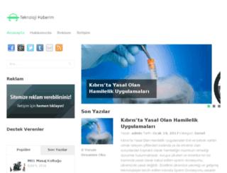teknolojihaberim.com screenshot