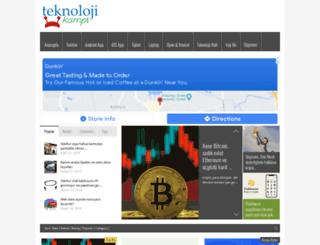 teknolojikampi.com screenshot