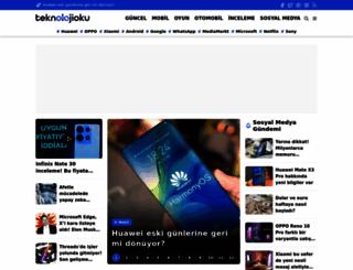 teknolojioku.com screenshot