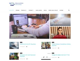 teknolojiweb.net screenshot