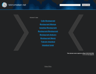 teknomekan.net screenshot