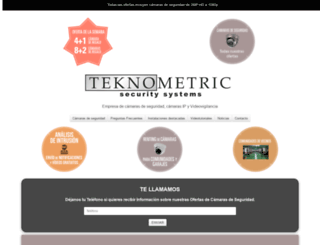 teknometric.com screenshot