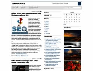 teknopologi.wordpress.com screenshot
