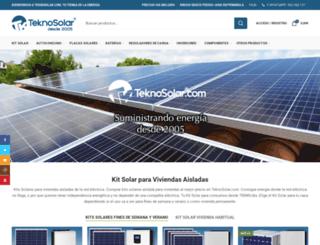 teknosolar.com screenshot