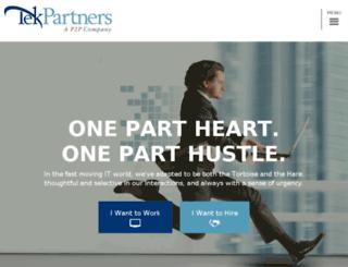 tekpartners.11bdev.net screenshot
