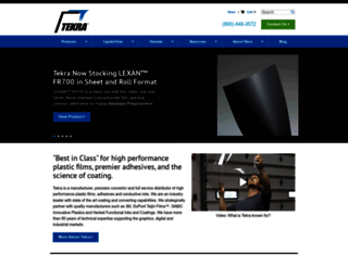 tekra.com screenshot