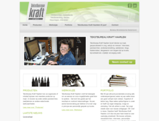 tekstbureau-kraft.nl screenshot