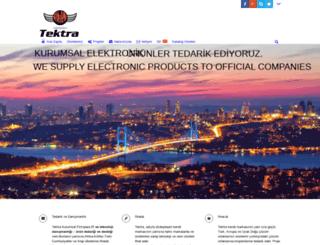 tektra.com.tr screenshot