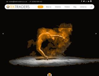 tektraders.co.uk screenshot