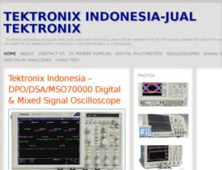 tektronixindonesia.wordpress.com screenshot
