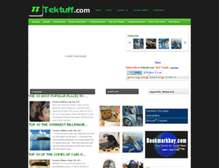 tektuff.com screenshot