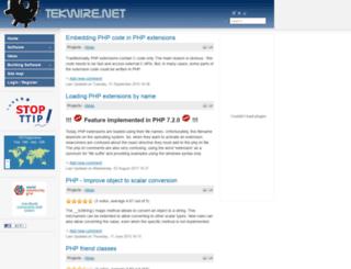 tekwire.net screenshot