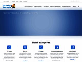 tekyazilim.net screenshot