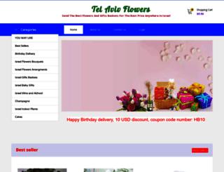 tel-aviv-flowers.com screenshot