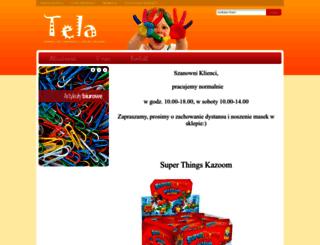tela.com.pl screenshot