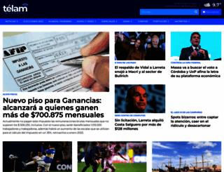 telam.com.ar screenshot