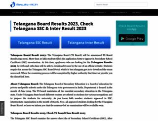 telangana.results-nic.in screenshot