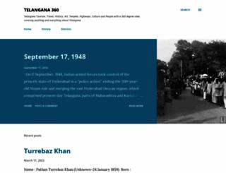 telangana360.com screenshot