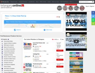 telanganaonline.com screenshot