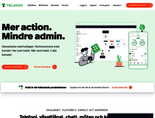 telavox.se screenshot