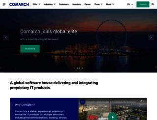 telcosphere.comarch.com screenshot