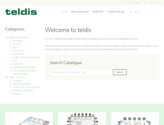 teldis.com screenshot