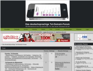 teldomains.me screenshot