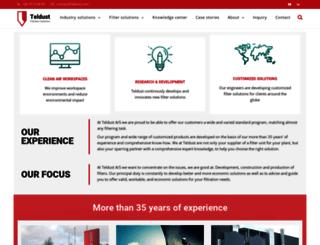 teldust.co.uk screenshot