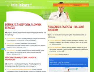 tele-lekarz.pl screenshot