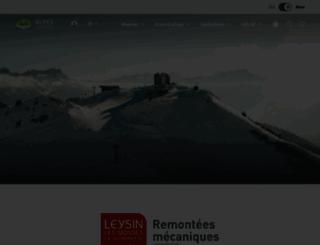 tele-leysin-lesmosses.ch screenshot