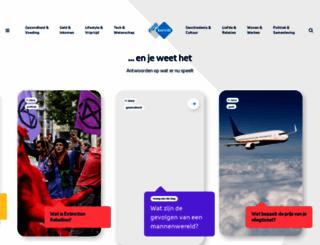 teleac.nl screenshot