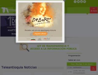 teleantioquia.com.co screenshot