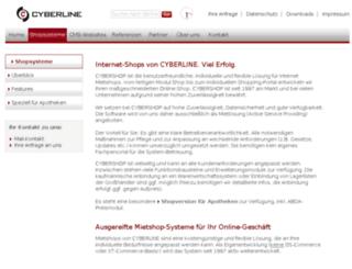 teleapo2.cybershop.de screenshot