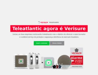 teleatlantic.com.br screenshot