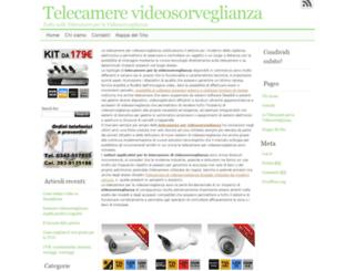 telecamerevideosorveglianza.com screenshot