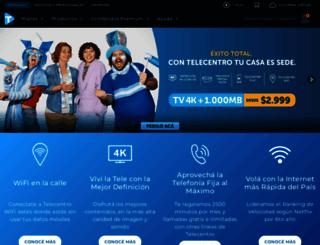 telecentro.net.ar screenshot