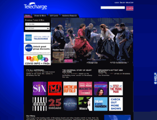 telecharge.com screenshot