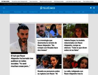 telecinco.es screenshot