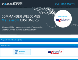 telecom.m2.com.au screenshot