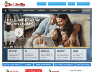 telecom.smithville.com screenshot
