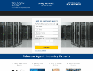 telecomagent.net screenshot